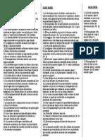 Catalogo de Faltas en Reglamento Disciplinario