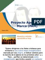 Proyecto Apostolico Marco PAM Norte