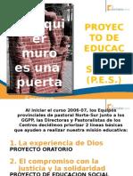 Proyecto Educacion Social PES Norte