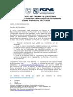 Carta de Recomendacion Especialidad