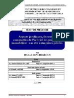 Aspects Juridiques, Fiscaux Et Comptables de l'Activité de Promotion Immobilière Cas Des Entreprises Privées