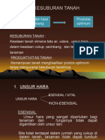 Bab 6 Kesuburan Tanah