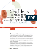15 and a half Ideas to Make Your Presentation Go From Boring to Bravo.pdf