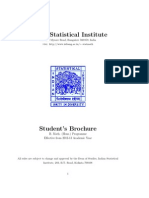 ISI b.math syllabus