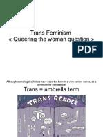 Trans Feminism