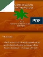 Kehamilan & Komplikasi Akbid Kartini 2009.Lengkap