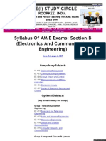 Syllabus Amie Syllabus Section b (EC)