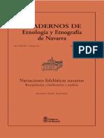 Asiáin Ansorena, Alfredo. Narraciones Folclóricas Navarras. Recopilación, Clasificación y Análisis.