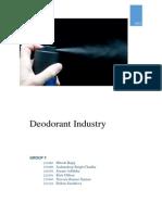 Group7 Deodorant Industry Part1
