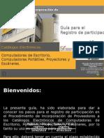 Guía Para El Registro de Participantes CPPE