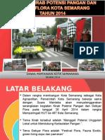 Laporan Kirab Potensi Pangan Dan Gebyar Flora Kota Semarang 2014 Final