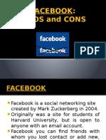 Facebook pro y contras