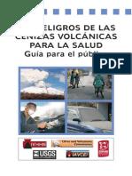 Peligro de las Cenizas Volcánicas.