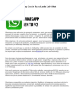 Descargar Whatsapp Gratis Para Lanix Lx14 Bat