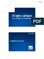 Hybris Developer Training Part II - Commerce - Module 04 - Commerce Basics
