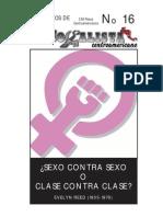 Sexo Contra Sexo