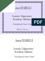 Anton Diabelli Sonates Mignonnes Op 150 Rondeau