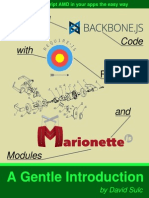 Structuring Backbone With Requirejs and Marionette Sample