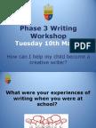phase 3 writing workshop