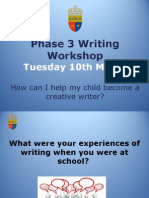phase 3 writing workshop