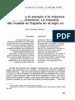 Rodríguez-La Industria Del Mueble en España en El XIX