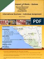 Ebola Impact in Guinea