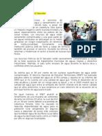 Escases de Agua en El Salvador