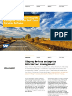 Harness and Unlock the Value of Your Data With Sap Data Services Software