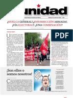 Publicación Del Comité Central Del Partido Popular