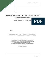 Magyar Felvételi 8. Osztály