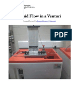 Fluid Flow in a Venturi