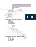 Moh-uae- Pharmacy Exam q Example