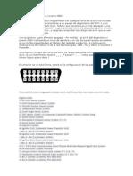 Conector de Diagnóstico Pajero Io