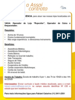 Cartaz Divulgação_26 08 2014