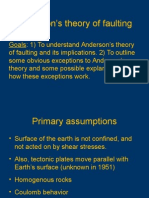 Anderson s Theory of Faulting