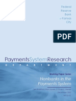 Nonbanks in the Payments System