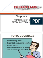 Chapter 4 - Principles of Double Entry