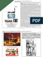 """Ingraban D. Simon, Jäger; Trompete, Horn; Pistole; Kanone, """"Dicke  Berta""""  - Nadelkissen, Nadelbehälter als Liebesgabe - Symbolik im Zusammenhang mit Nadel und Faden"""
