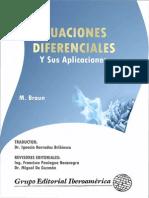 Ecuaciones Diferenciales y Sus Aplicaciones - M. Braun-FREELIBROS.org