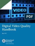 Digital Video Quality Handbook