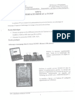 travaux pratique tcp/ip page 1