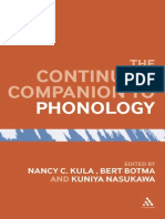 Continuum Companion Phonology