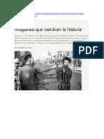 Imágenes Que Cambian La Historia