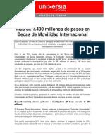 Boletin 05 Becas Santander 2015