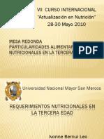 20. Mesa Redonda - Requerimientos