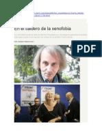 La Coincidencia de La Obra de Michel Houellebecq y La Masacre Parisina Envenena a Europa y Pone a Un Escritor en Medio de La Tensión Multicultural.