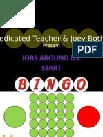 Jobs Around Us Bingo