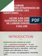 de l'espace européen aux territoires de l'union européenne.pptx