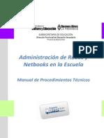 Manual de Procedimientos 2011 Conectar Igualdad BS AS