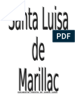 Eucaristía Fieesta de Santa Luisa 2015